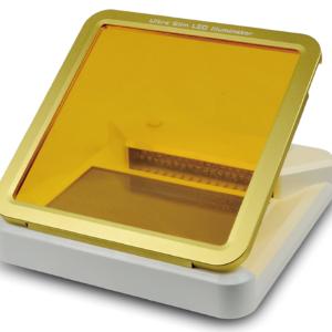 Máy đọc gel và khuẩn lạc sử dụng đèn LED