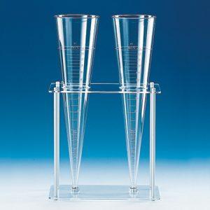 Phễu nhựa 1 lít - Imhoff (Vitlab)